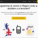 Dove compro una SIM inglese dall'Italia? Guida completa a GiffGaff e come farsela spedire gratuitamente!